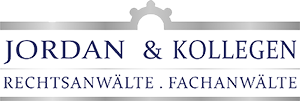 Logo Jordan & Kollegen - Rechtsanwälte . Fachanwälte